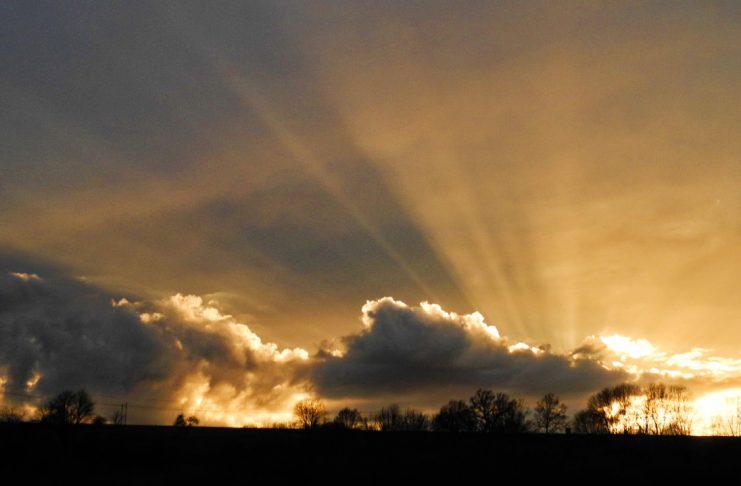 Sonnenuntergang Trauer