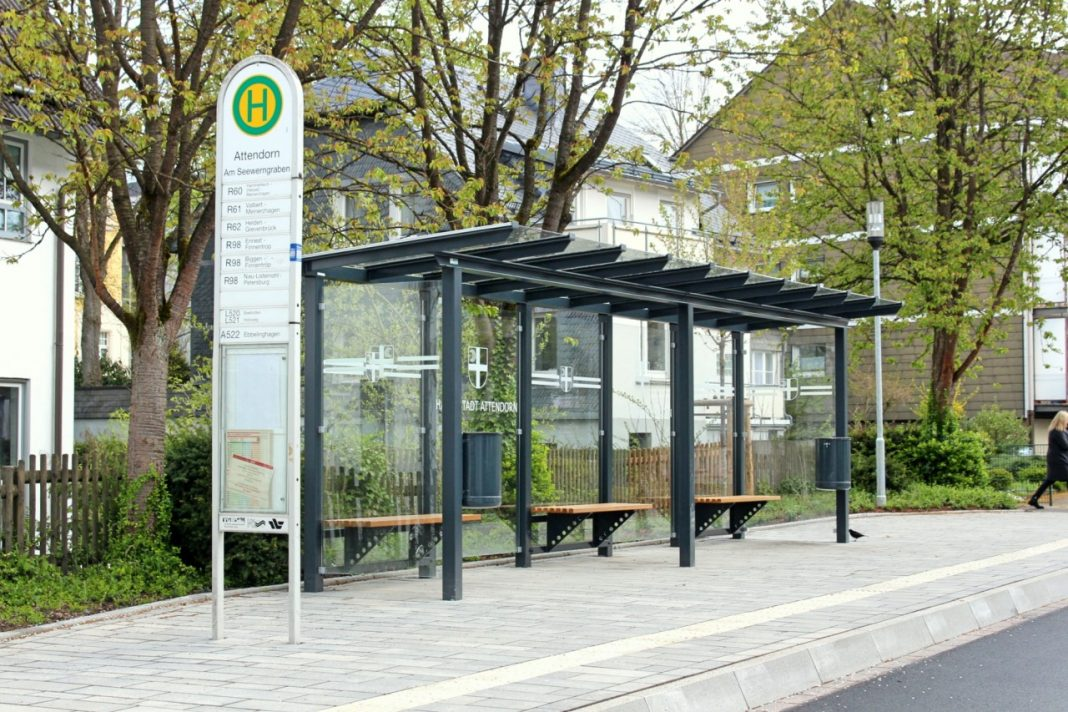 Umbau: Barrierefreie Bushaltestellen Attendorn