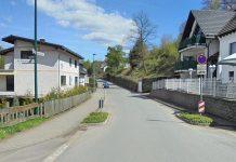 Baustelle Waldenburger Weg