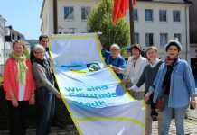 Fairtrade-Stadt Attendorn fahne