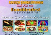 Familienfest der kurdischen Gemeinde
