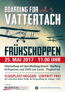 Boarding for Vattertach 2017