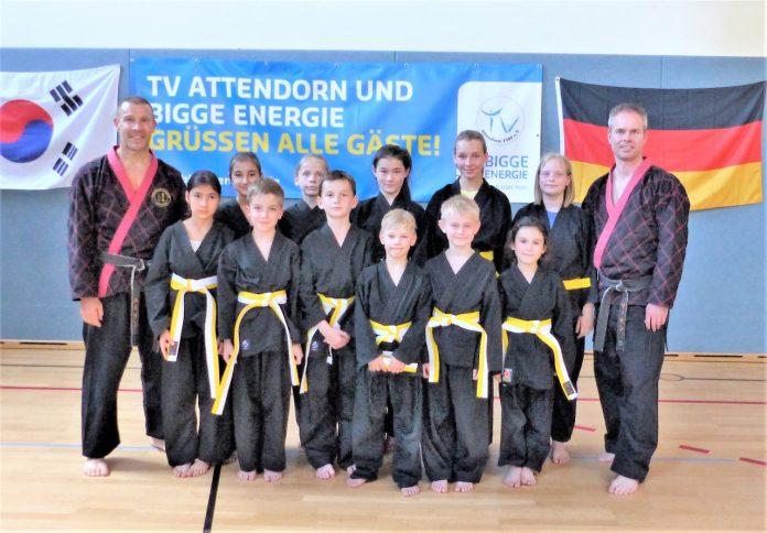 Hapkido Doppelprüfung TV Attendorn 2017