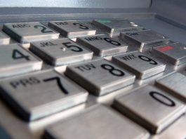 Bargeldversorgung - Geldautomat - Tastatur