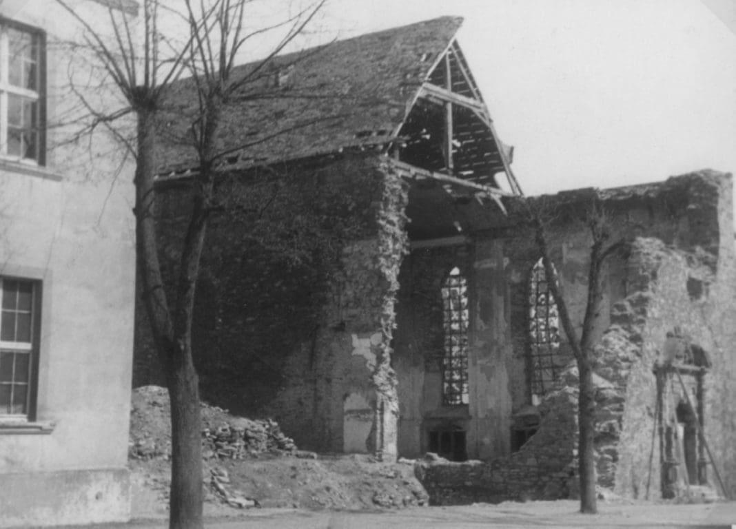 franziskanerkirche explosion 1945