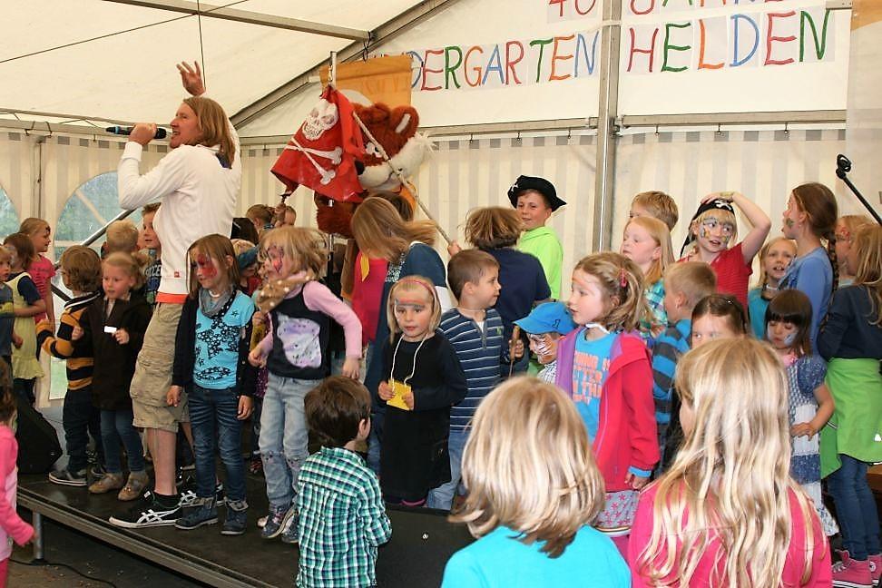 Kindergartenfest Helden 2017