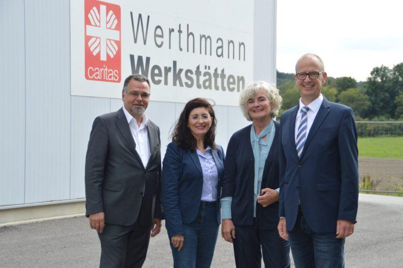 SPD-Bundestagskandidatin Nezahat Baradari Werthmann-Werkstätten Attendorn