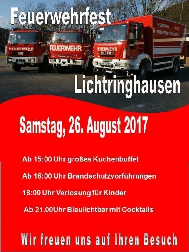 feuerwehrfest lichtringhausen 2017