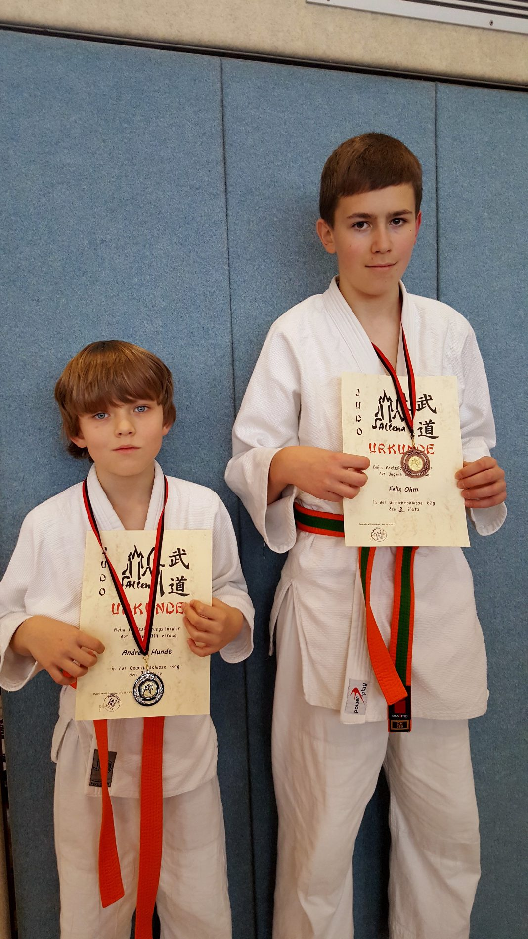 attendorner geschichten - judoka