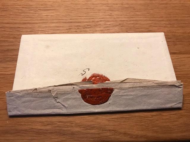 """""""Bettel-Brief"""" der """"alten"""" Schützen an Landrat Freusberg von 1818"""