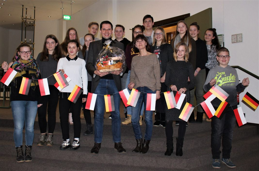 Schülergruppe Halina Böhm in Attendorn