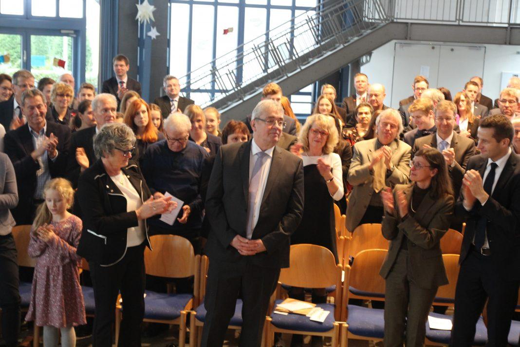 Verabschiedung Realschulrektor Jürgen Beckmann - St.-Ursula-Realschule Attendorn