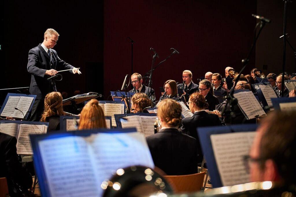 Musikzug Ennest Neujahrskonzert 2018 Attendorn Foto: Björn Bernhardt