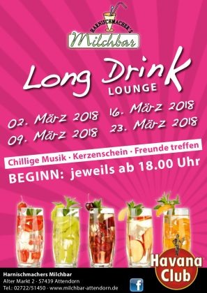 Harnischmacher - Long Drink Lounge 2018