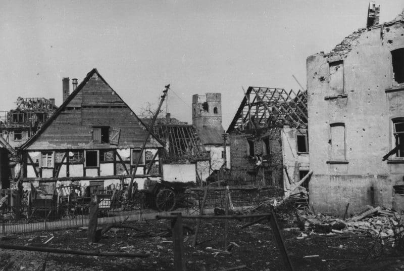 attendorner geschichten - bomben angriff - 28. März 1945 Bomben auf Attendorn