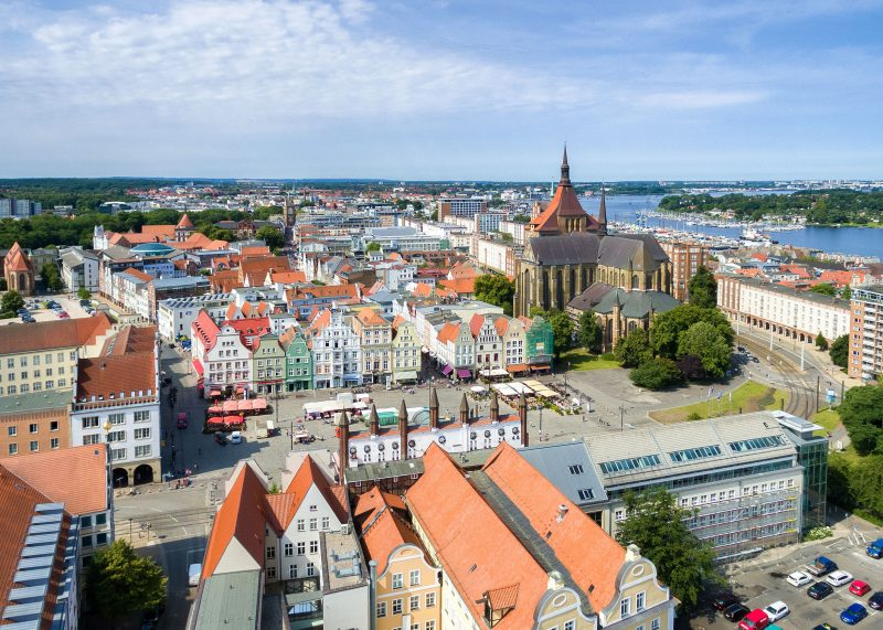 Hansetag Rostock Luftbild ©Rostock Marketing Sebastian Krauleidis