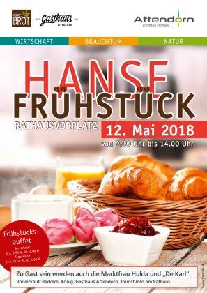 Hansefrühstück 2018 - Stadt Attendorn
