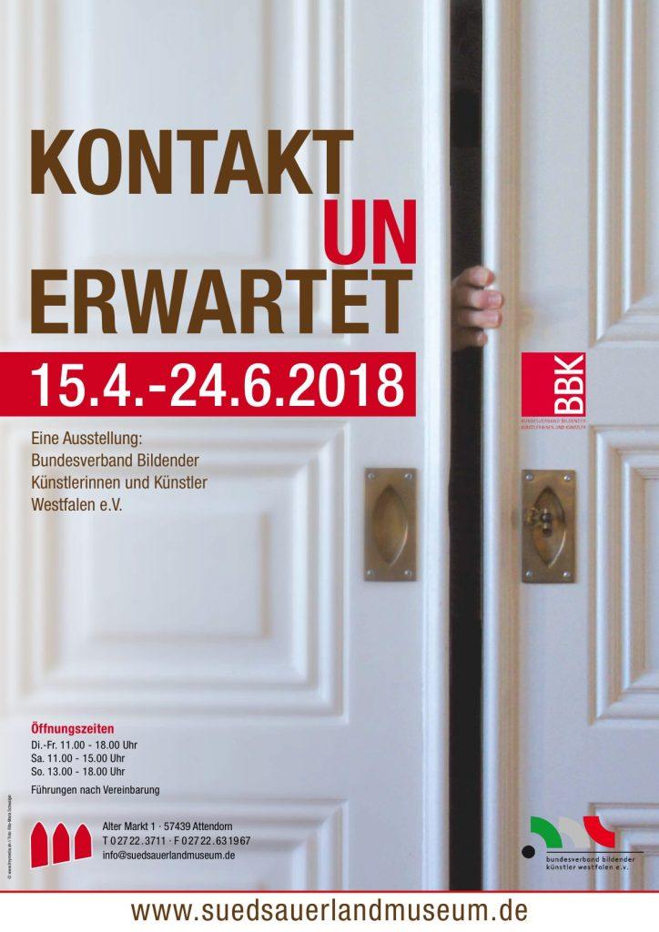 Kontakt unerwartet Sonderausstellung Südsauerlandmuseum Attendorn
