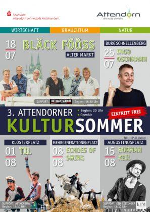 Attendorner Kultursommer 2018