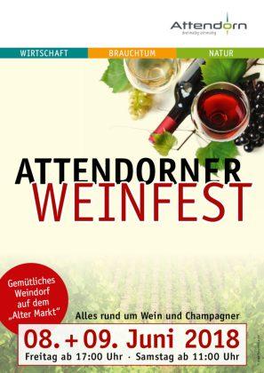 Weinfest Attendorn 2018