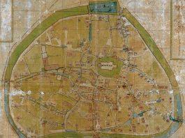 Historischer Stadtplan Attendorn