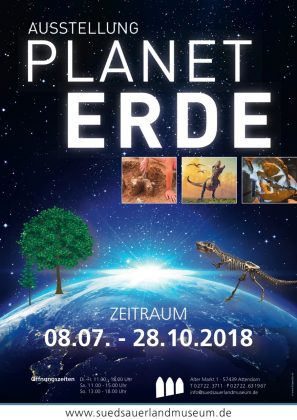 PLANET ERDE - Sonderausstellung Südsauerlandmuseum Attendorn