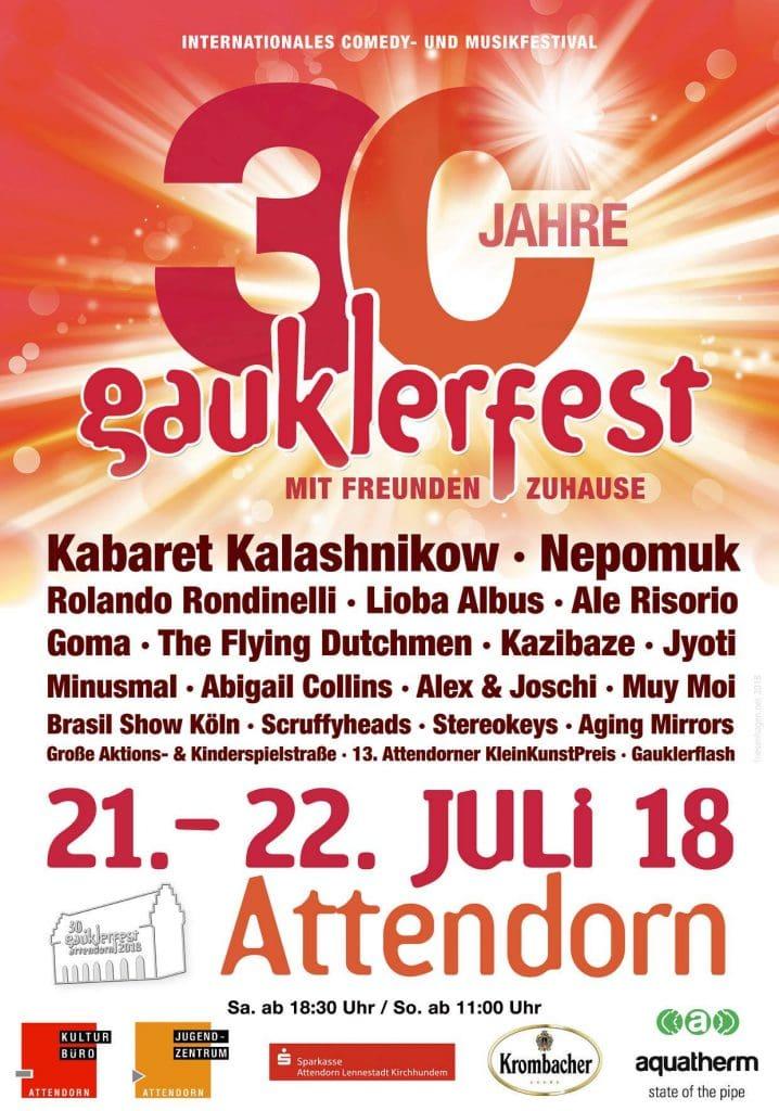 30 Jahre Gauklerfest Attendorn 2018