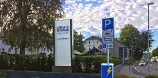 E-Ladesäule - Kreis Olpe © BIGGE ENERGIE
