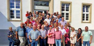 SPD Stadtführung mit Hettwich vom Himmelsberg