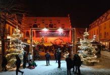 attendorner geschichten - weihnachtsmarkt hütte