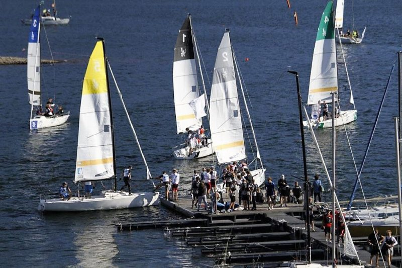 Finale der Deutschen Junioren Segel-Liga am Biggesee 2018