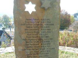 attendorner geschichten - gedenkstele jüdisch shalom