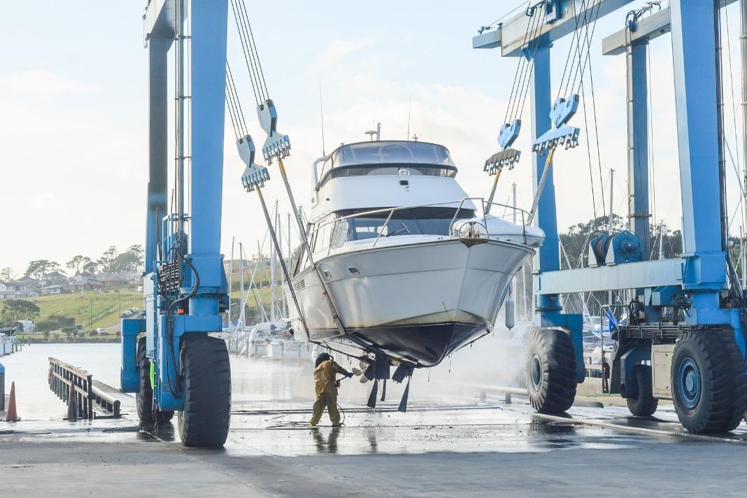 attendorner geschichten - kran segelboot