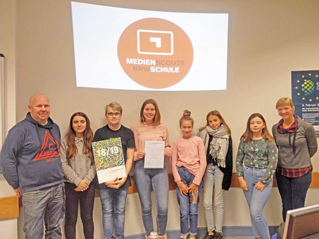 Medienscouts-2018 - St. Ursula Realschule Attendorn