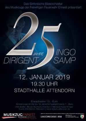 25 Jahre Dirigent Ingo Samp
