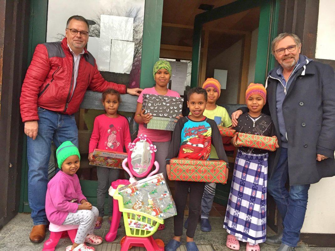 Weihnachtsgeschenke- Aktion SPD Attendorn