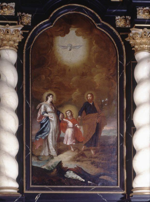 Agathaaltar - Gemälde - Attendorn