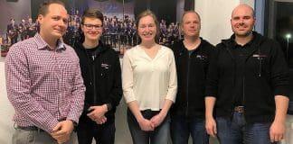 Musikzug Ennest - Vorstand 2019