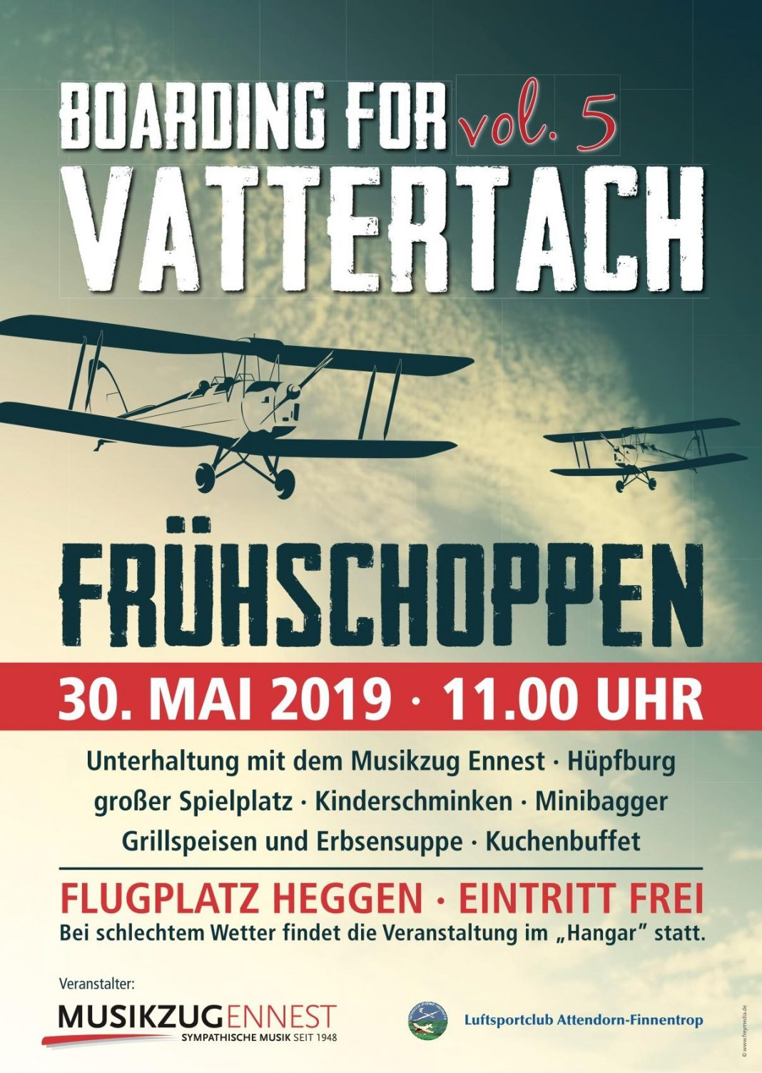boarding for vattertach 2019