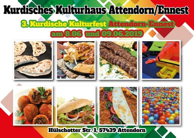 3. Kurdisches Kulturfest Attendorn Ennest 2019