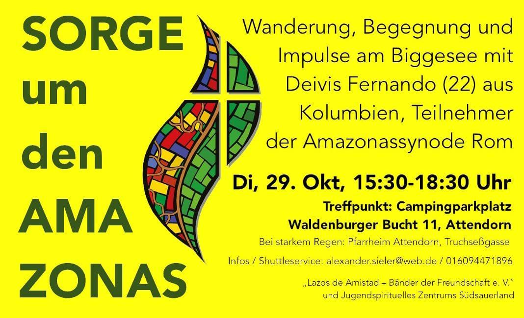 Spirituelle Begegnungswanderung mit dem Kolumbianer Deivis Fernando für junge und junggebliebene Menschen durch die Waldenburger Bucht