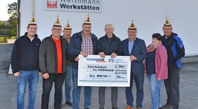 Spende KG Ihnetal - Werthmann Werkstätten
