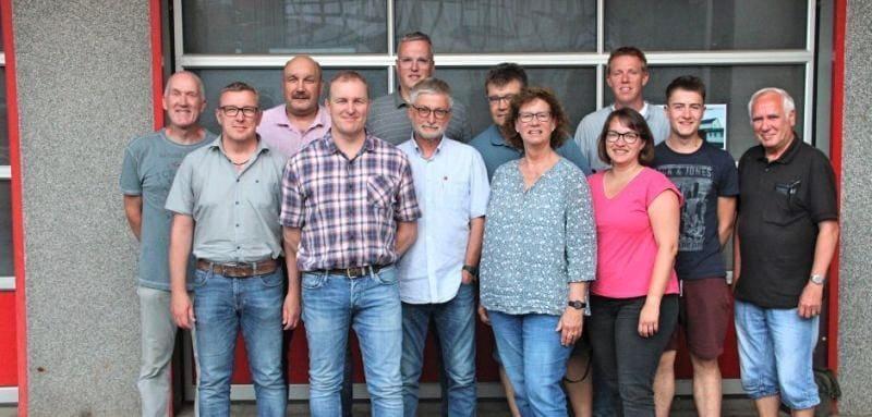 Dorfverein HELDEN Gesamtvorstand 2019