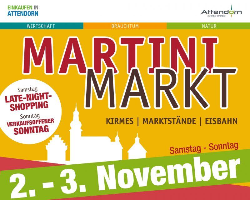 Martini Markt Plakat Fotor