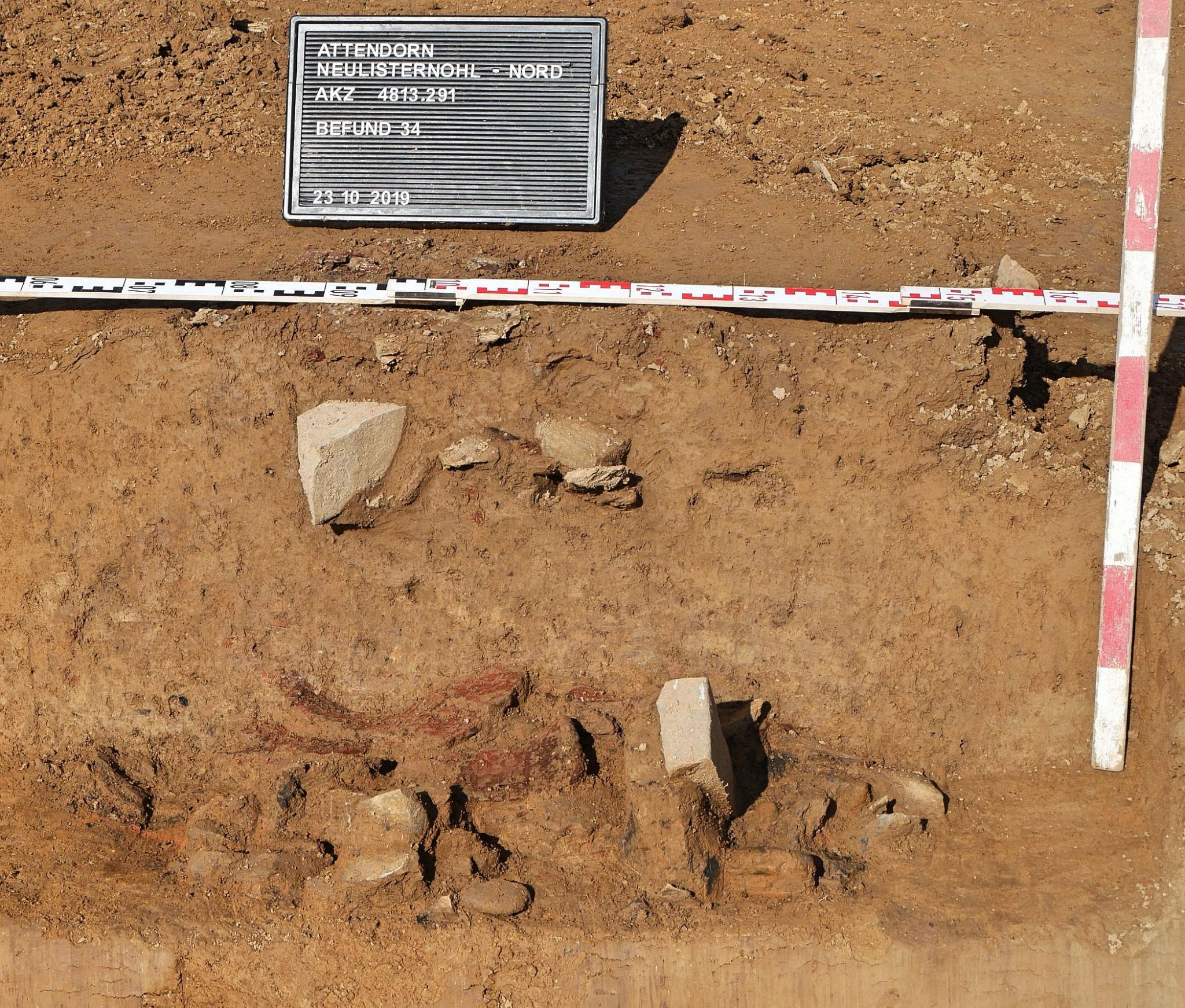 Keramikscherben archäologen Attendorn LWL