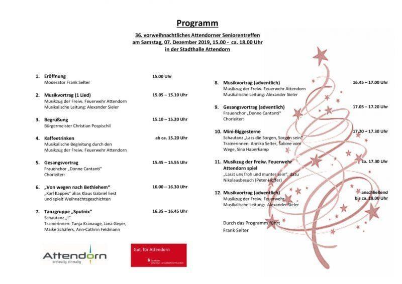 Programm 36 vorweihnachtliches Seniorentreffen3