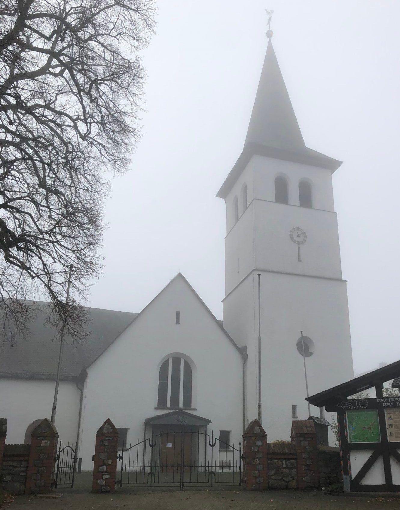 Brand in der Dünscheder Pfarrkirche