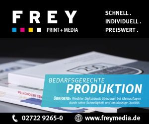 FREY PRINT + MEDIA - Attendorn, Paderborn