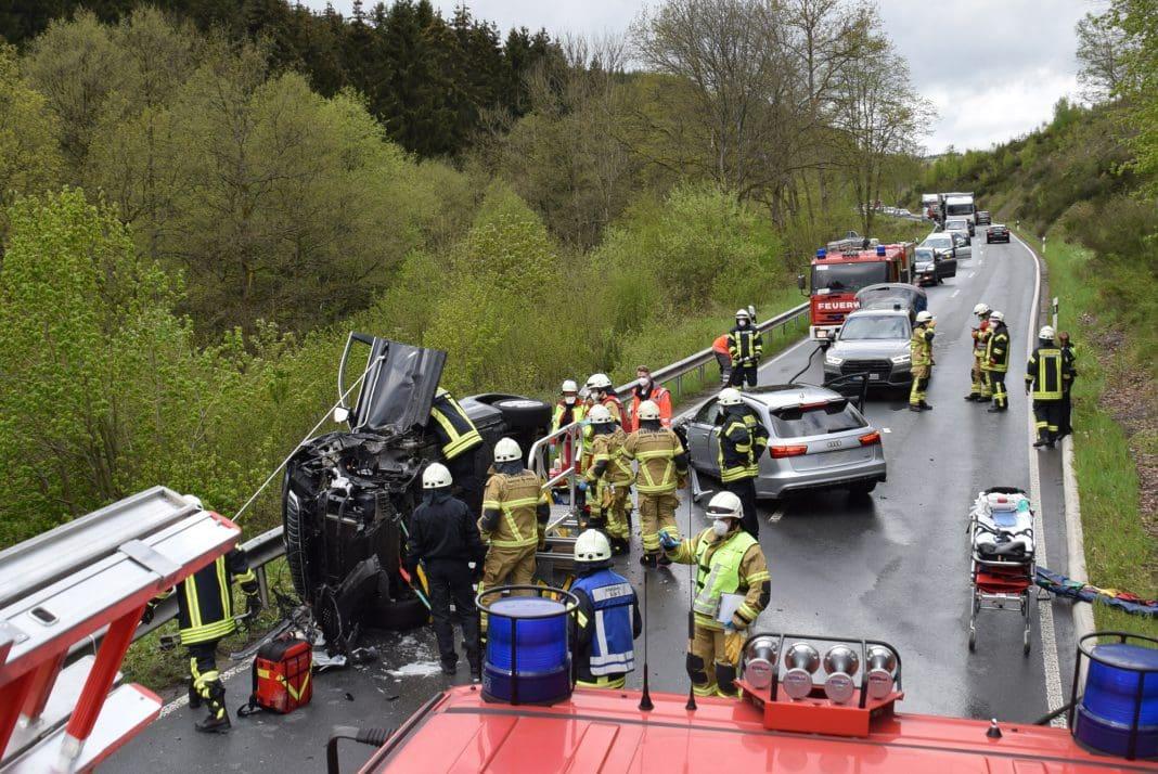 Verkehrsunfall Attendorn - 17-05-2021
