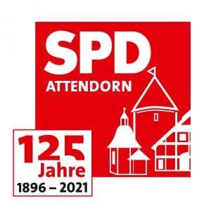 logo spd attendorn 125 jahre